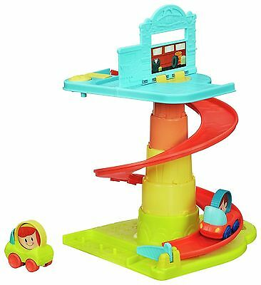 NEW Playskool On-The-Go Pop-Up Rollin' Ramp Playset  toy garage