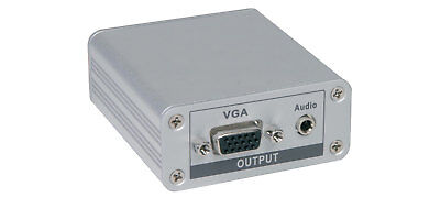 CAT 5 VGA/Audio Receiver