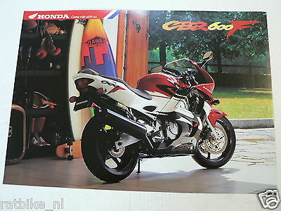 H048 Honda  Brochure Prospekt Folder Cbr600F Dutch 6 Pages 1996 ?