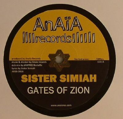 "SISTER SIMIAH/JAH FREE - Gates Of Zion - Vinyl (7"" limited to 300 copies)"