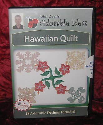 Adorable Ideas Hawaiian Quilt by John Deer (2016-295)