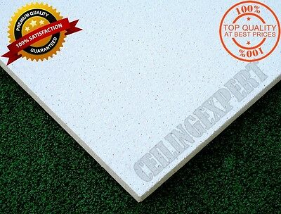 ARMSTRONG DUNE SUPREME FLAT CEILING TILES BOARD 1200 x 600mm EDGE 24/15mm FIT