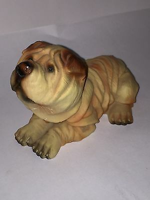 Shar Pei Puppy Dog Wrinkly Breed Sculpture Pei Chinese Shar-pei dog