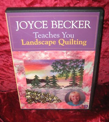 Joyce Becker Teaches You Landscape Quilting (2016-303)