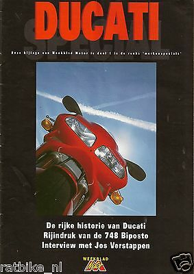 D001 Dutch Special Issue Ducati Magazine, Motorcycle