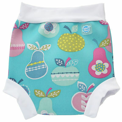 Baby Girl Splash About Happy Nappy Medium 3-6-8 Months Tutti Frutti Swim Pants