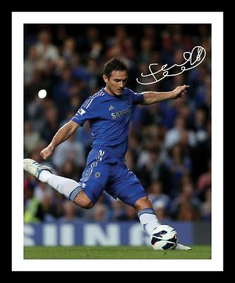 CHELSEA AUTOGRAPHED SIGNED /& FRAMED PP POSTER PHOTO EDEN HAZARD