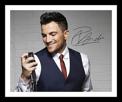Peter Andre Autographed Signed & Framed Pp Poster Photo 1