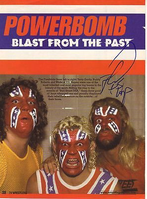 Wwe Wwf Michael Hayes Autographed Hand Signed 8X10 Photo Wrestling Picture