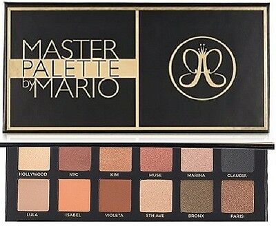 Anastasia Beverly Hills Master Palette By Mario Eyeshadow 12 Colours
