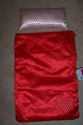 Chad Valley DesignaBear Outfit, Brand New,red/white sleeping bag & pillow XMAS?
