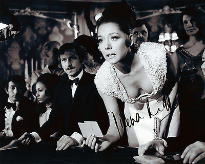 Diana Rigg - Tracy - On Her Majesty's Secret Service - Signed Autograph REPRINT