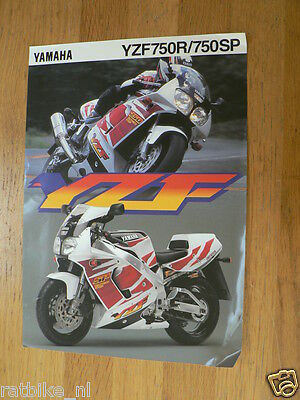 Hap-197 Yamaha Brochure Yzf750R And Yzf750Sp English 2 Pages 1995 ?
