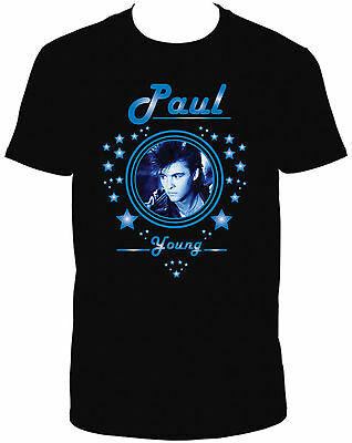 Paul Young Black Crew Neck Short Sleeve Tshirt