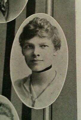 Amelia Earhart Senior High School Yearbook 1915 Extremely Rare 101 Years Old