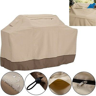 BBQ Cover Waterproof Garden Patio Grill Rain Dust Resistant Barbecue Protection