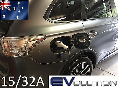 Portable EV Electric Charger J1772 15A / 32A Switchable EVSE Type 2 I3 PHEV LEAF