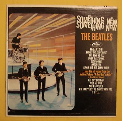 The Beatles Canada LP ST-2108 Something New Rare red target label