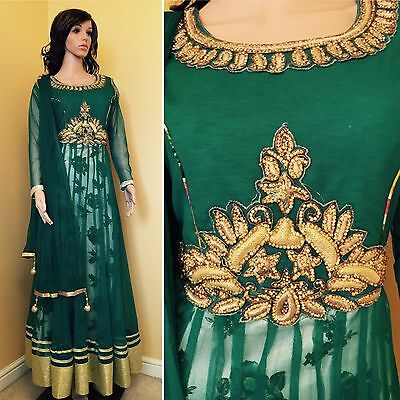 *CLEARANCE*Readymade Asian,Anarkali SuitUK SIZE 12 (bust size-40,length-57)