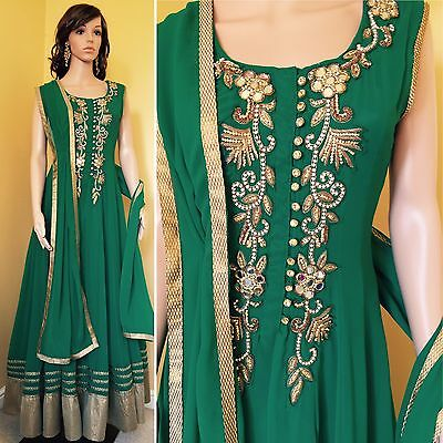 *CLEARANCE*Readymade Asian,Anarkali Suit.UK SIZE 10 (bust-38,length-57).
