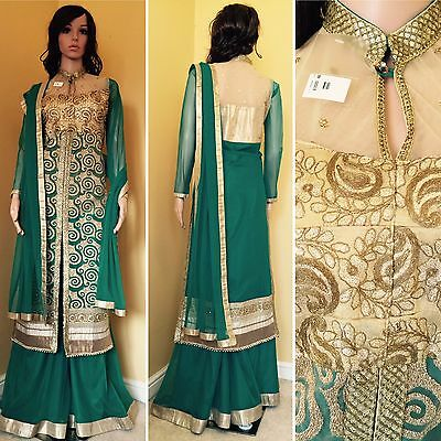 *REDUCED*Readymade Asian,Sharara Suit.UK SIZE 12 (bust size-40).
