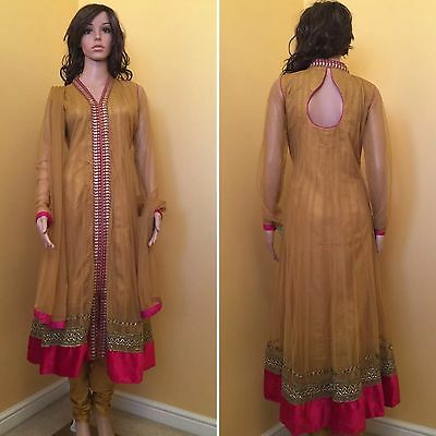 *CLEARANCE*Readymade Asian,Anarkali SuitUK SIZE -10 (bust size-38)