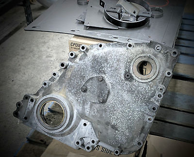 CUMMINS N14 FRONT Cover 3411458, 3078274, 3076496