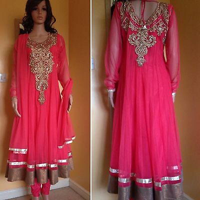 *CLEARANCE*Readymade Asian,Anarkali Suit.UK SIZE 12 (bust size-40).
