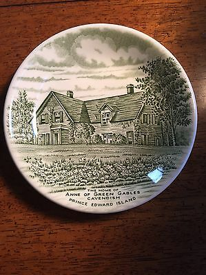 STAFFORDSHIRE ANNE OF GREEN GABLES HOUSE HOME PORCELAIN Dish PEI Atlantic Canada