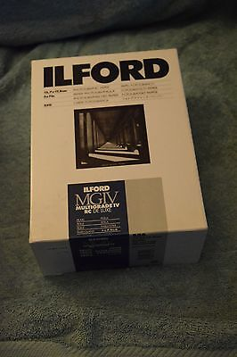 Ilford 5x7 B&W photo paper, unopened box of 250, Pearl