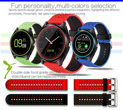Smart Watch Bluetooth Wrist Bracelet GPS Tracker Camera Android NFC SIM SD Slot