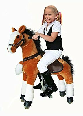 UFREE Horse Action Pony, Ride on Toy, Mechanical Moving Horse, Giddyup for