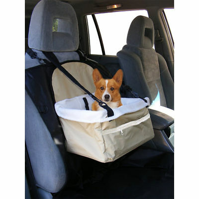 Portable Dog Car Booster Seat/Pet Travel/Foldable/Safety Adjustable Strap Basket