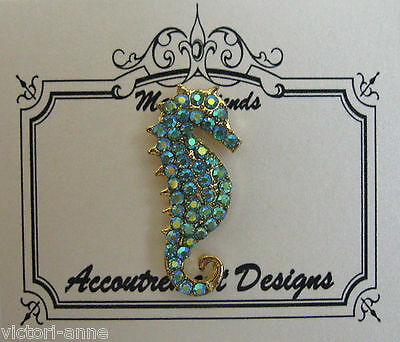 Accoutrement Designs Peridot Seahorse Needle Minder Magnet Mag Friends