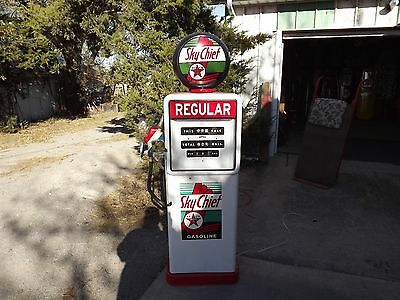 "Vintage TEXACO ""Sky Chief"" Regular BOWSER Electric Gas Pump PRICE REDUCED!"