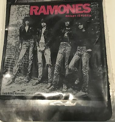 The Ramones Licensed Sew On patch Rocket To Russia