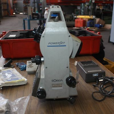 SOKKIA SET3000 Theodolite TOTAL STATION SURVEYING CONSTRUCTION batteries charger