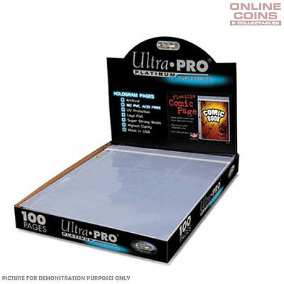 Ultra-Pro Comic Series 3-Hole Flexible Comic Page - 10 Sheets