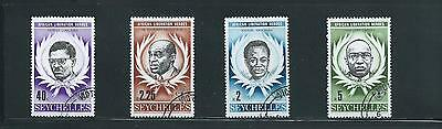 Seychelles 1979 Africa Liberation Heroes SG 446/9 Fine Used