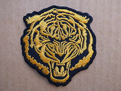 ECUSSON PATCH THERMOCOLLANT TIGRE trike biker country harley rock / 7 x 7.6 cm