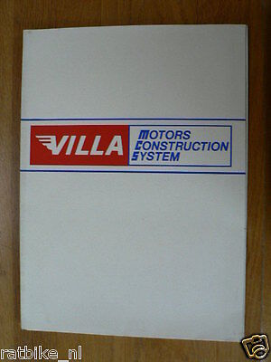 Moto Villa 6 Mini Brochures Bimbo,350 Six-Days,380 Cross,250 Cross,Vallelunga 7