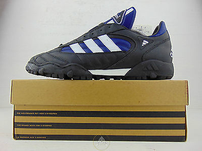 Vintage 90 ADIDAS Stratos Team Scarpe Calcetto 45 US 11 Soccer Shoes Boots