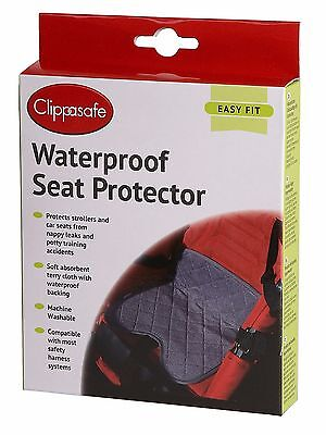 Clippasafe Waterproof Seat Protector Piddle Pad Car Buggy High Chair Pushchair