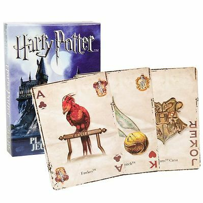 Harry Potter Hogwarts 52 Deck Playing Cards