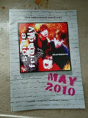 the charlatans - 20th anniversary programme some friendly May 2010