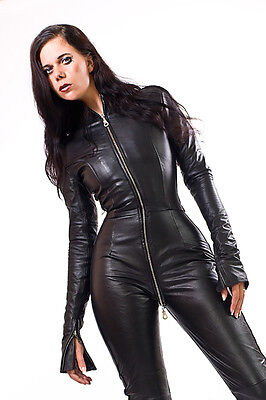 Leder Catsuit Ganzanzug  Leather Catsuit Overall Made-to-measure