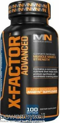 Molecular Nutrition X-Factor Advanced 100 Softgels