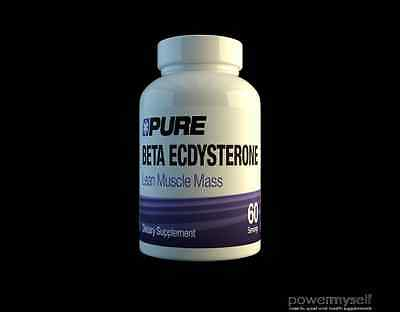 Pure Beta Ecdysterone (60 Servings)