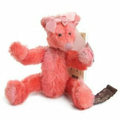 """MARGAUX RUSS Bears From The Past Limited Edition Jointed 14cm (5.5"""") Mohair TAGS"""