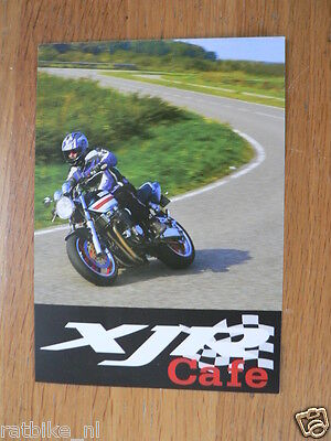 Y104-YAMAHA BROCHURE pricelist 2004,2001,2001 AND CARD XJR CAFE DUTCH 3 PAGES